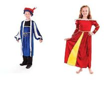 Tudor Girl or Tudor Boy King Henry Costume 146cm Fancydress