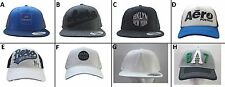 ONE BRAND NEW AEROPOSTALE MEN FRAYED FITTED SNAPBACK HAT CAP ONE SIZE O/S