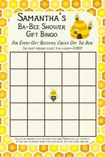 14 Personalized Baby Shower Gift Bingo-Baby Shower Game - Dr. Seuss -Party Games