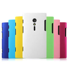 1x New Rubberized hard case cover for Sony Xperia Ion LT28i