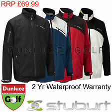 2014 STUBURT MENS SPORT WATERPROOF JACKET - NEW GOLF RAIN SUIT SALE WINDPROOF