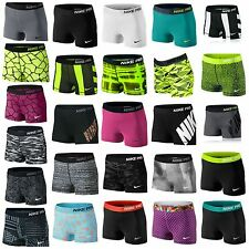 """NEW NIKE WOMENS PRO 3"""" INCH COMPRESSION SHORTS / 2.5"""" RUNNING/ GYM/YOGA IN STOCK"""