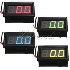 "0.56"" 3 Wire LED Voltmeter Car Digital Display Panel Volt Meter DC 0-10/30/200V"