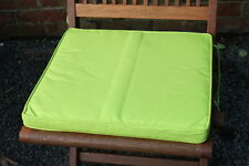 Garden Furniture Cushion- Seat Pad for Garden Folding Chair in 6 Colours