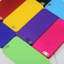 1x New Matte Rubberized Hard case back cover for iphone 5 5S SE
