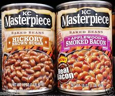 KC Masterpiece BBQ Barbecue Bake Beans ( 3 cans ) Rich Sauce ~ Pick One