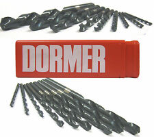DORMER HSS JOBBER DRILL BITS FOR STEEL / METAL FROM 8.2MM TO 13.0MM METRIC