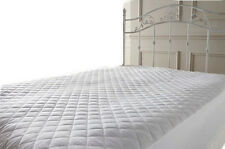 """Luxury Extra Deep 12"""" Microfibre Mattress Protector Fitted Sheet Bed Cover Sizes"""