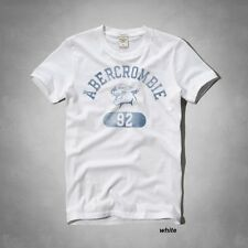 NWT ABERCROMBIE & FITCH MEN`S TEE SHIRT MUSCLE FIT SIZES S,M,L,XL,XXL