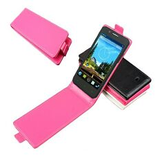 """New For 5"""" THL W200 W200S Phone PU leather Protective Cover Flip Case Multicolor"""