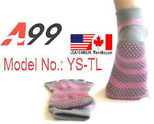 Toe Socks Yoga Pilates Sock GRIPS half TOE toeless socks Men and Women