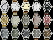Oozoo Design Uhr XXL Basic 46mm grosse Farbauswahl