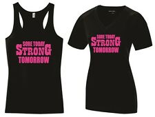 Sore Today Strong Tomorrow Tank Top Shirt Exercise Work Out Sweat Girl Lady