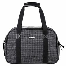 MERC Egan Dogtooth Bowling Bag MEn Women Wool mix Travel Sport Gym Bag 100%