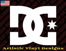 DC Shoes vinyl decal sticker for wall car laptop many colors and sizes