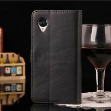 Luxury Classic Retro Flip Wallet Leather Case Cover Pouch For LG Google Nexus 5