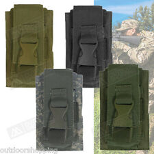 """Flash Bang Single Pouch 5 1?2"""" x 3 3?8"""" - Quick Release Buckle Closure, MOLLE"""
