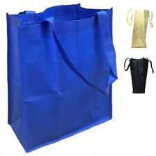 20 LOT LARGE Grocery Shopping Bag Bags Reusable Tote Totes Gasset WHOLESALE BULK