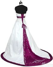 FairOnly New  Weeding Dress Bridal Gown Size:6 8 10 12 14 16 18 20+Custom