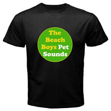 New THE BEACH BOYS Pet Sounds Indie Rock Band Men's Black T-Shirt Size S to 3XL