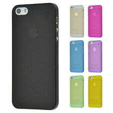 UltraSlim 0.3mm FeinMatt Case Apple iPhone 5 5S Hülle Bumper Cover Schale