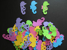50 Seahorse Diecuts in 2 Shapes for Scrapbooks, Cards, Invitations, Decorations