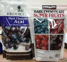 Brookside Dark Chocolate Covered Super Fruit Juice Antioxidant Candy ~ One Bag