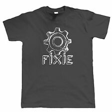 Fixie Cycling Or Mountain Bike Shirt - Fixed Gear Single Speed Singletrack