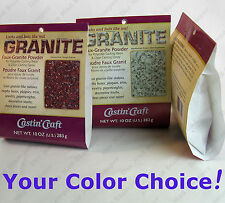 Castin'Craft FAUX GRANITE POWDER  for Polyester or Epoxy Casting Resin 10 oz