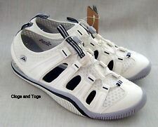 NEW CLARKS ROCK JETSAM COVE WHITE WET / DRY SPORTS SHOES TRAINERS