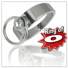 TR0099-Ring of O, Ring of O, Bdsm, Slave, Piercing, Silver, New, Ring