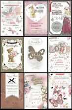 FABULOUS  LARGE BIRTHDAY CARD With 8 PAGE INSERT ~CHOICE OF DESIGN AND TITLE