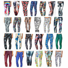3D Hot Graphic Printed Galaxy Stars Colourful Leggings Yoga Gym Pants Trousers