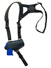 NEW Barsony Black Leather Thumb Break Shoulder Holster SIG Walther 380 9mm 40 45