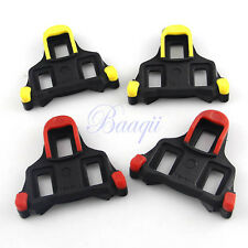1 Pair Road Cycling Bicycle Pedal Cleat For Shimano SPD-SL Yellow or Red