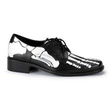 FUNTASMA X-RAY-02 SKELETON FOOT BONES ZOMBIE COSTUME MEN'S LACE UP LOAFER SHOE