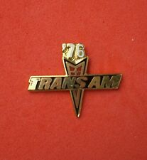 1983 or 1985 or 1987 or 1988 TRANS AM HAT LAPEL PIN TIE TACK