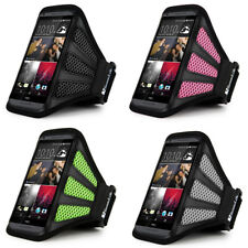 SumacLife GYM Sports Running Mesh Armband Case for HTC One / M7 X V S EVO 8XT