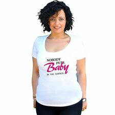 Nobody Puts Baby In The Corner Girls T-Shirt (2 Shapes)