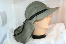 Fishing Bucket Hat Neck Flap Vented Adjustable Sun Protection