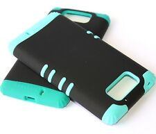 For Motorola Droid Ultra XT1080 - HARD&SOFT RUBBER HYBRID FITTED SKIN CASE COVER