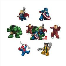 LEGO MARVEL AVENGERS / SUPERHEROES CHARACTER STICKERS / STICKAROUNDS