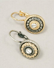 DESIGNER INSPIRED RUSSIAN STYLE ANTIQUE STYLE EARRING 4 COLORS NWOT