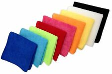 "240 Microfiber 12""x12"" Cleaning Cloths Detailing Polishing Towels Rags 300GSM"
