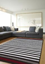 Rugs New Small Medium Large Modern Bedroom Rugs Contemporary Striped Design
