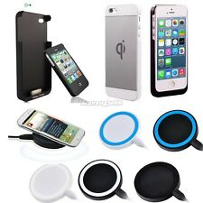 Qi Charging Caricabatte pad/ ricevitore caso per Note2 Galaxy S3 S4 IPhone 5s 4s