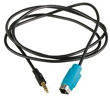 Aux 3.5mm Jack Input Headphone Adaptor Cable for Alpine iPod MP3 iPhone KCE-236B