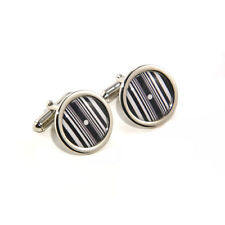 Doppler Effect Science & Physics Cufflinks & Engraved Gift Box Opt.