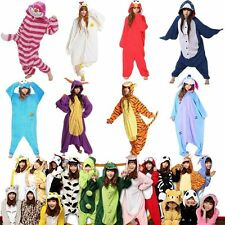 Hot Unisex Adult Kigurumi Pajamas Cosplay Costume Animal Onesie Sleepwear Suit