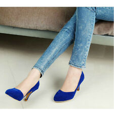 New Sexy Women Lady High Heel Stiletto Pointed Toe Pump Shallow Mouth Pump Shoes